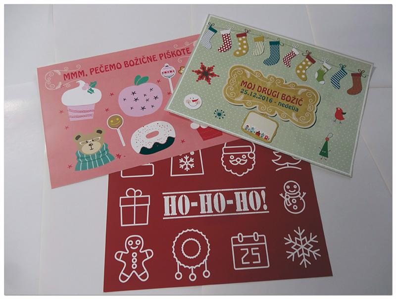 Božične kartice za fotografiranje