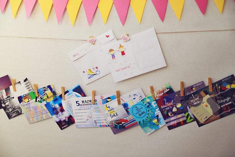 Kartica - Spomin na osnovno šolo
