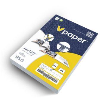 Papir z dvojnim zgibom V-papir